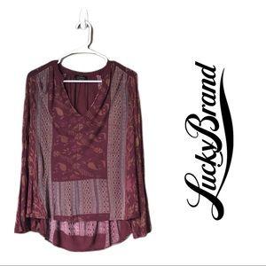 Lucky Brand blouse-c8
